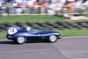1998 Goodwood Revival meeting.Jaguar D type