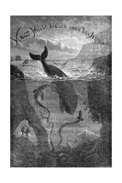 20,000 Leagues under the Sea, Jules Verne - Title Page