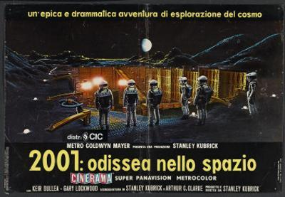 2001: A Space Odyssey, Italian Movie Poster, 1968
