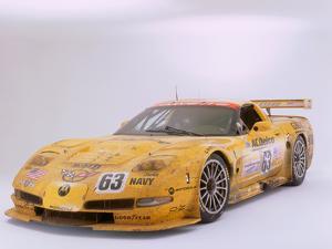 2002 Chevrolet Corvette Le Mans racing car