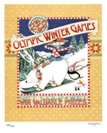 2002 Winter Olympics Get Cold & Wet Salt Lake City