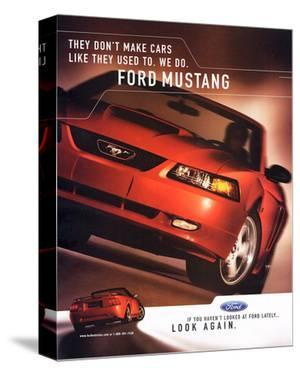 2003 Mustang-Like They Used To