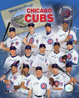 2007 Chicago Cubs Team