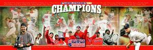 2007 Red Sox World Series Champions Panoramic Photo