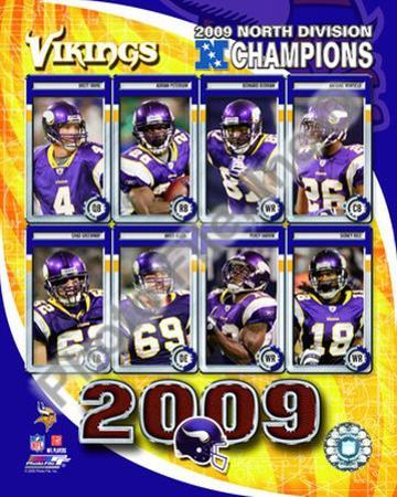 2009 Minnesota Vikings NFC West Divison Champions