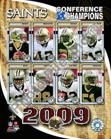 2009 New Orleans Saints NFC Champions