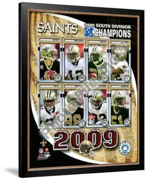 2009 New Orleans Saints NFC South ChampionsTeam
