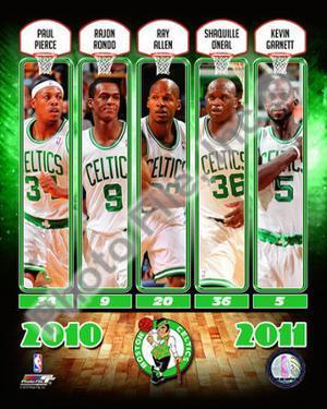 2010-11 Boston Celtics Team Composite