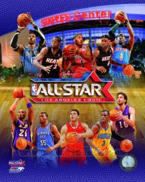 2010-11 NBA All-Star Game Matchup Composite