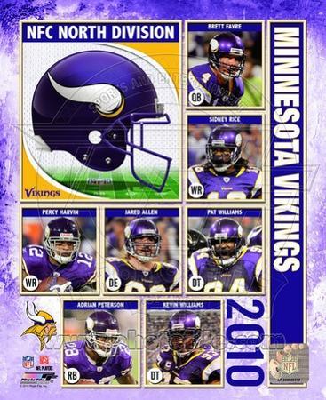 2010 Minnesota Vikings Team Composite