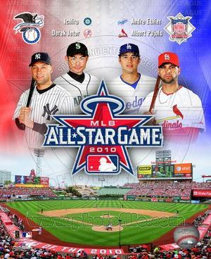 2010 MLB All-Star Game Matchup Composite