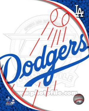 2011 Los Angeles Dodgers Team Logo