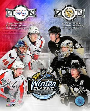 2011 NHL Winter Classic Matchup Composite