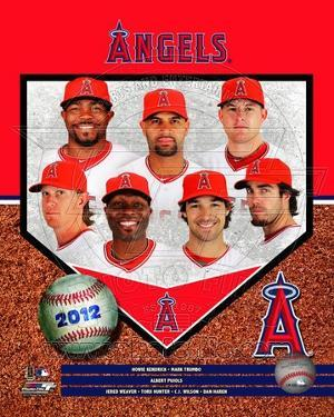 2012 Los Angeles Angels Team Composite