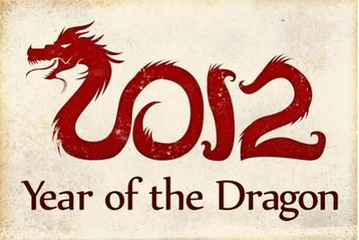 2012 Year of the Dragon Poster