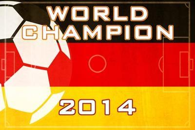2014 Soccer Champions - Germany