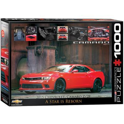 2015 Chevrolet Camaro Z/28 A Star is Reborn 1000 Piece Puzzle