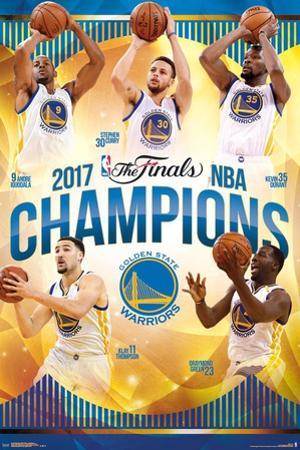 2017 Nba Finals -  Warriors Champions