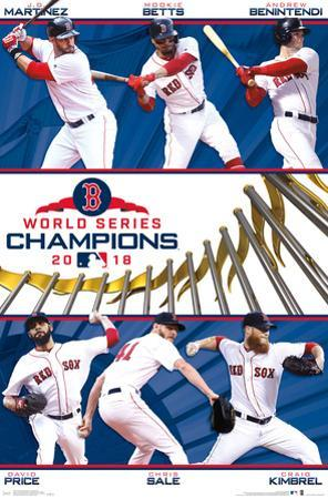 2018 WORLD SERIES - CHAMPIONS