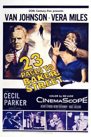 23 Paces to Baker Street,  Van Johnson, Vera Miles, 1956