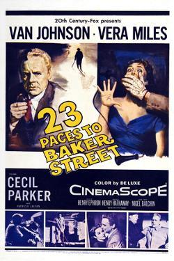 23 Paces to Baker Street,  Van Johnson, Vera Miles, 1956