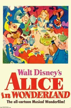 24X36 Disney Alice in Wonderland - One Sheet