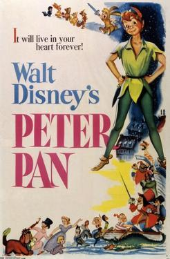 24X36 Disney Peter Pan - One Sheet