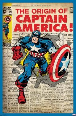 24X36 Marvel Comics - Captain America - The Original