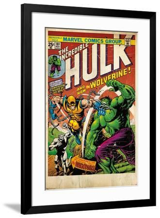 24X36 Marvel Comics - Wolverine - Cover--Framed Poster