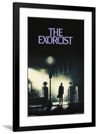 24X36 The Exorcist - One Sheet--Framed Poster