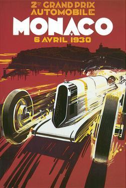 2eme Grand Prix Automobile Monaco