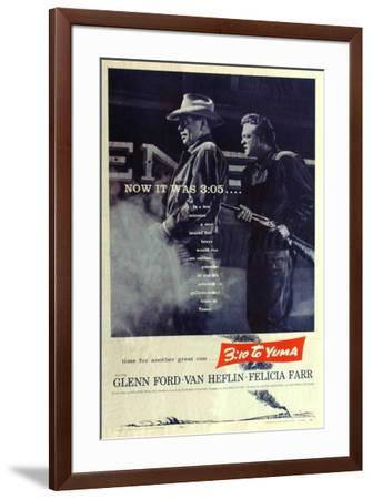 3:10 To Yuma--Framed Poster