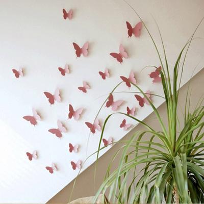 3D Butterflies - Pink