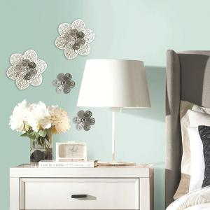 3D Cutout Flower Embellishments