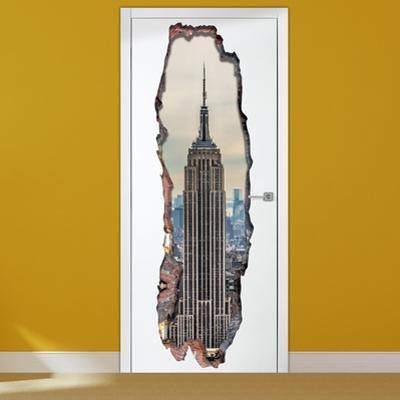 3D Empire Tower Door