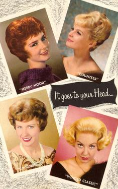 4 60's Hair Styles, Retro
