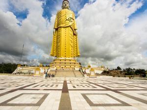424 foot Yattawmu standing Buddha at Bodhi Tataung, Monywa, Sagaing Region, Myanmar