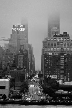 42nd Street New York City on Rainy Day