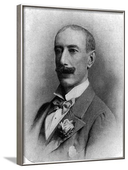 4th Earl Dunraven--Framed Photographic Print