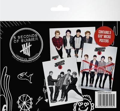 5 Seconds Of Summer Micro Poster Set