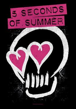 5 Seconds Of Summer- Skull Logo