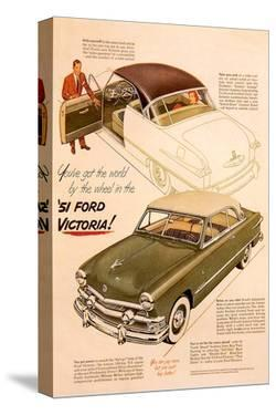 51 Ford Victoria-By the Wheel