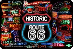 66 Neon Signs Collage