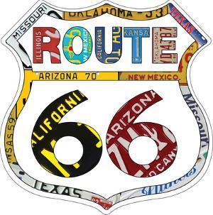66 Plate border