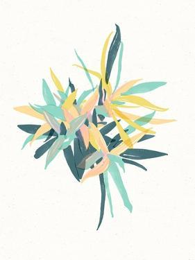 Watercolor Plant II by 7.0
