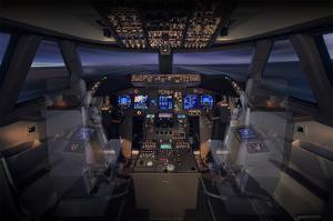 747-8 Flight Deck