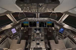787 Flight Deck Simulator
