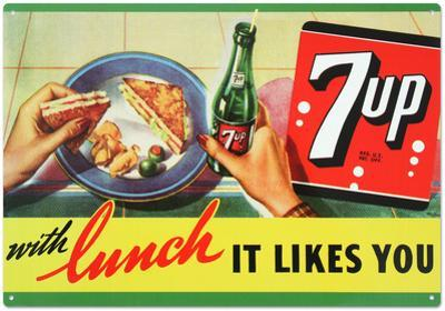7Up Seven Up Soda With Lunch Likes You