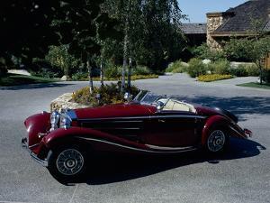A 1936 Mercedes Benz 500K Roadster