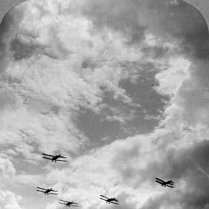 A Battle Squadron in Fighting Formation, World War I, C1914-C1918